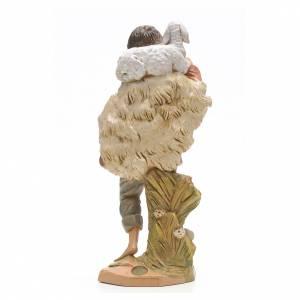 Pastor con oveja 30 cm Fontanini s3