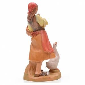 Pastora con patos 17 cm Fontanini s3