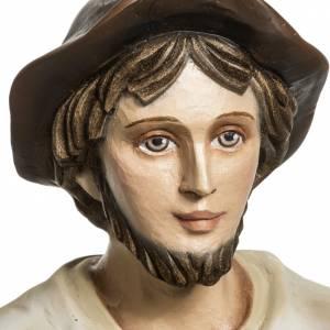 Statue in Vetroresina: Pastore con agnello presepe 60 cm vetroresina