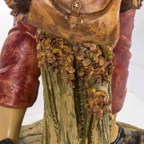 Pastore con lanterna 125 cm presepe Fontanini s6