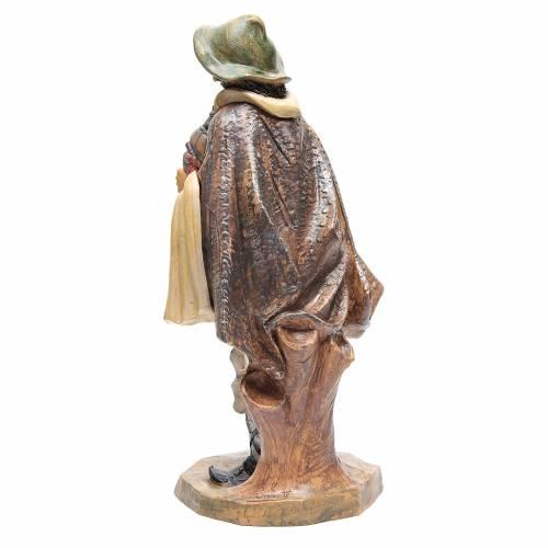 Pastore con zampogna 45 cm s3