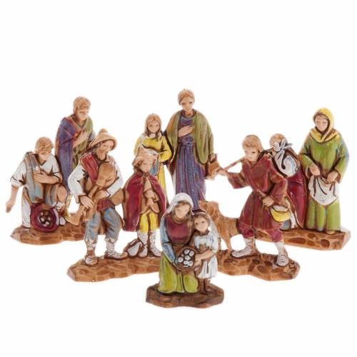 Pastori doppi 6 pz. 3 cm Moranduzzo s1