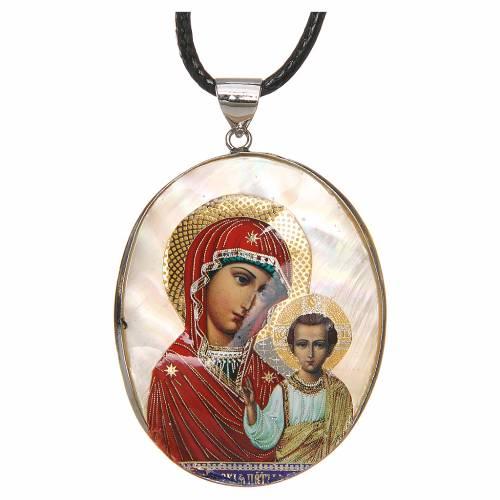 Pendant Kazanskaya natural mother-of-pearl s1