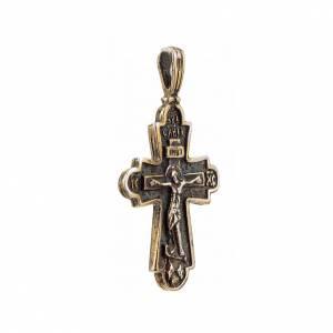 Pendant Slavic cross in sterling silver s2