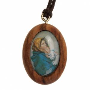 Pendente olivo ovale Madonna del Ferruzzi s1