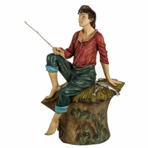 Pescatore 125 cm presepe Fontanini s1