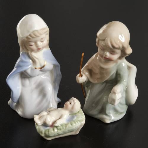 Pesebre de 11 estatuas de cerámica 10cm s2