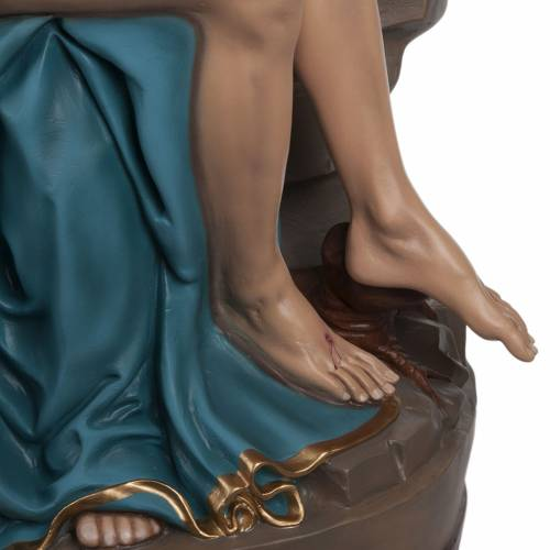 Pietà de Michelangelo statue fibre de verre 100 cm s4