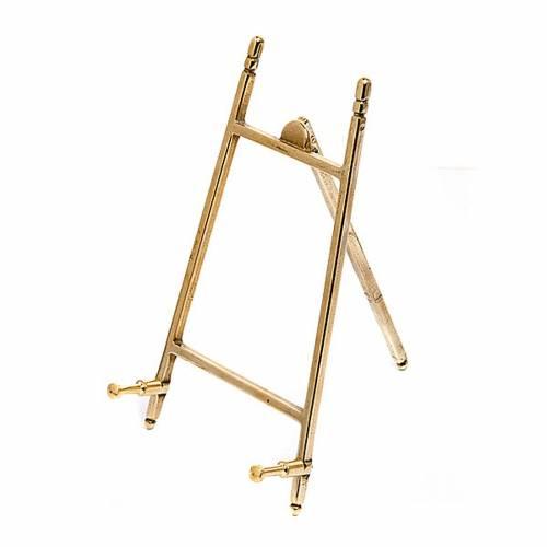 Plain brass picture holder frame s2