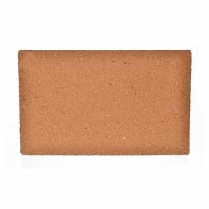 Fondos y pavimentos: Plancha corcho muro ladrillos grandes cm. 33x20x1