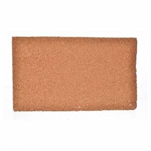 Fondos y pavimentos: Plancha corcho piedra/ladrillo cm. 33x20x1.5