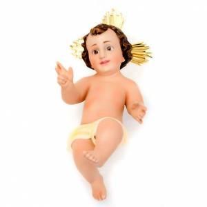 Plaster Baby Jesus with rays s4