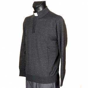 Polo clergy Gris Oscuro s2