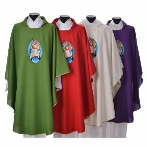 Chasubles: STOCK Pope Francis' Jubilee Chasuble with English writing