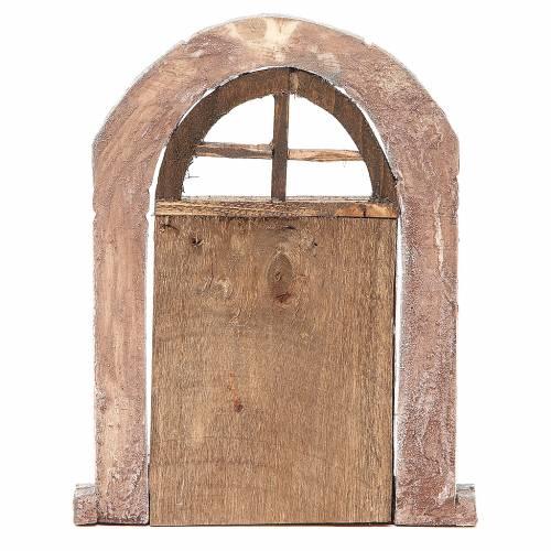 Porta arco e colonne per presepe 22X14 cm s3