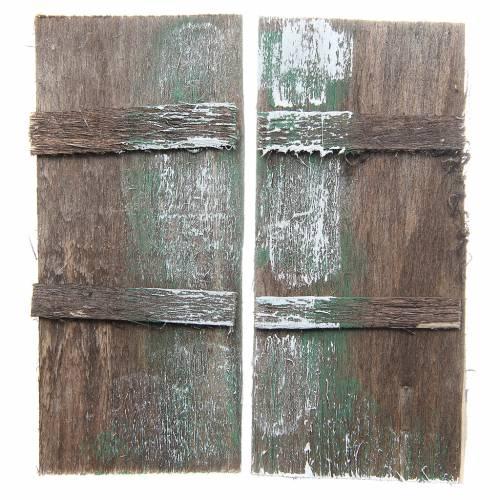 Porta in legno cm 11,5x5,5 rettangolare set 2 pz s3