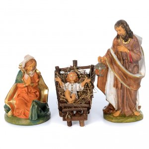 Presepe da 8 statue in materiale infrangibile 40 cm s2