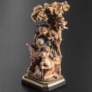 Presepe legno dipinto Val Gardena mod. Bachtaler s7