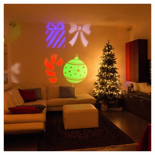 Proiettore led Christmas interno esterno s2