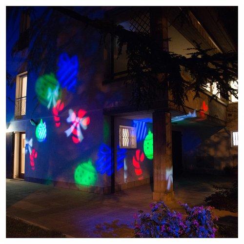 Proiettore led Christmas interno esterno s6