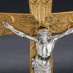 Vortragekreuze und Ständer: Prozessionskreuz aus Bronze