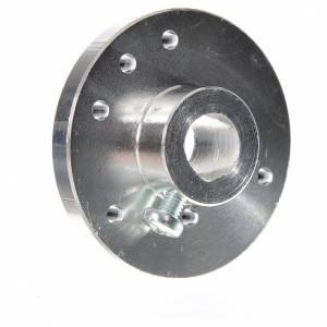 Pompe acqua presepe e motorini: Puleggia per motoriduttori per alberino diam 8 mm MP