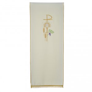 Pulpit cover with eucharistic symbols s3
