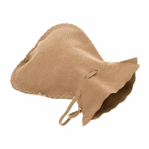 Pyx burse in suede leather bag model s1