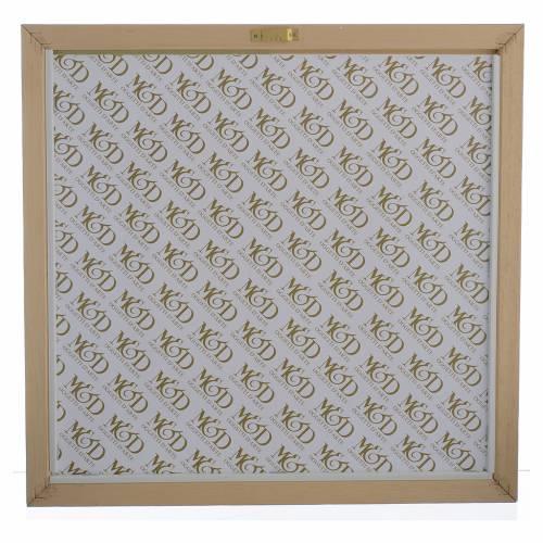Quadro Battesimo Celeste - Verde 33x34 cm s3