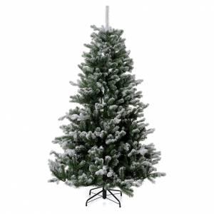Árboles de Navidad: Árbol de Navidad 180 cm Poly copos de neve glitter Sheffield