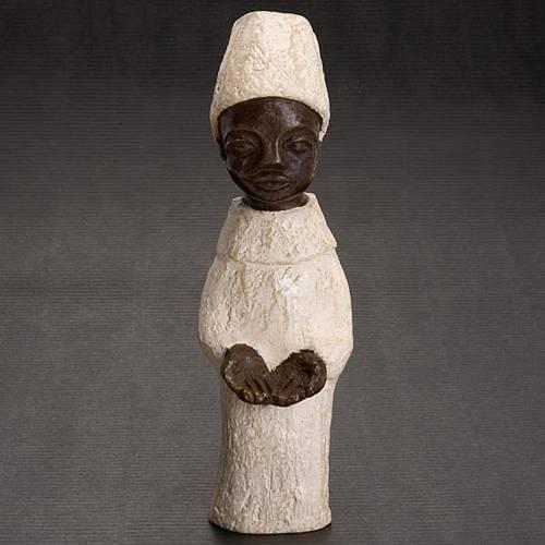 Re africano Presepe piccolo Bethléem s2