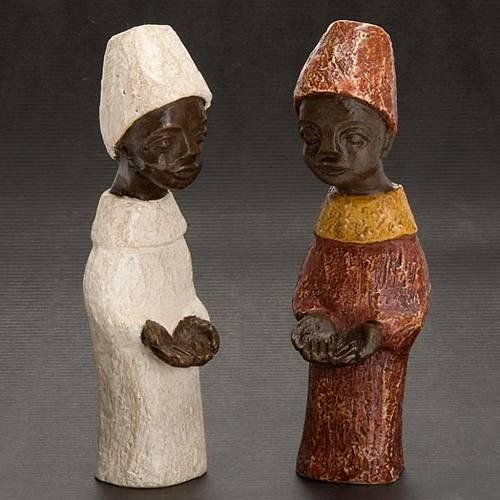 Re africano Presepe piccolo Bethléem s3
