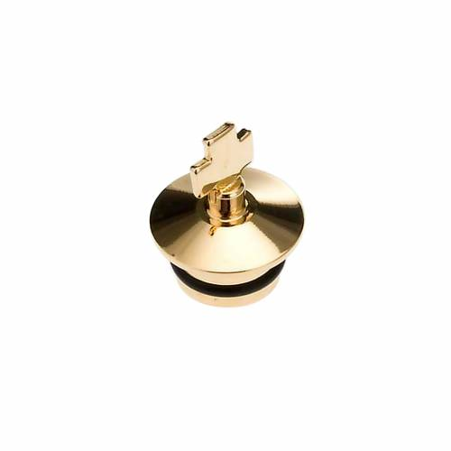 Replacement for cruets, golden antique finish: couple of stopper s1
