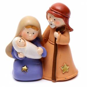 Nativity sets: Resin Holy family 6,5 cm children collection