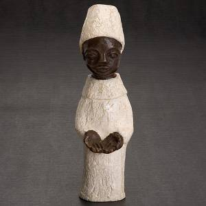 Pesebre Monasterio de Belén: Rey africano pesebre Belén