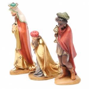 Reyes Magos, mod. Orient, Madera de la Valgardena pintada s2
