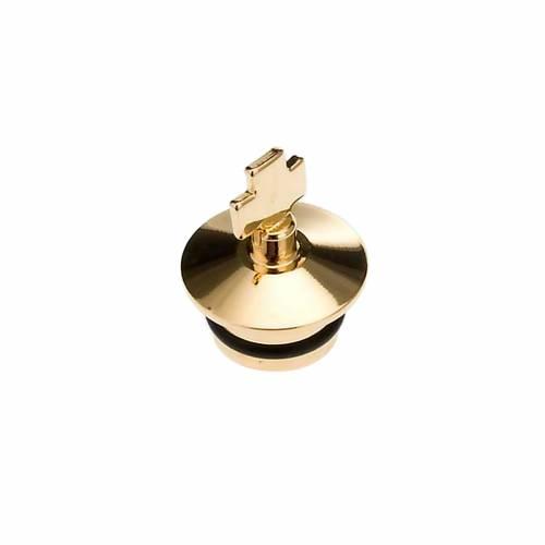 Ricambi ampolline fusione oro e anticato: coppia tappi s1