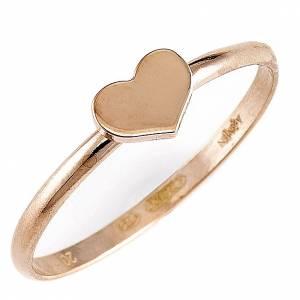 Gebetsringe: Ring AMEN Herz Silber 925 rosa
