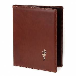 Leather folder for sacred rites s1