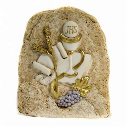Rock Holy Communion 12,5x11,5cm s1