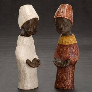 Roi africain crèche Bethléem s3