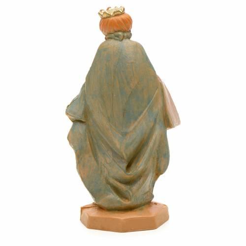 Roi Mage mulâtre crèche Fontanini 6,5 cm s2