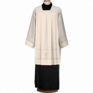 Albas litúrgicas: Roquete con cruz y lirio