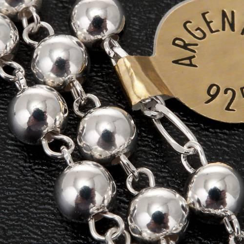 Rosario argento 925 grano 6 e 3 mm 5