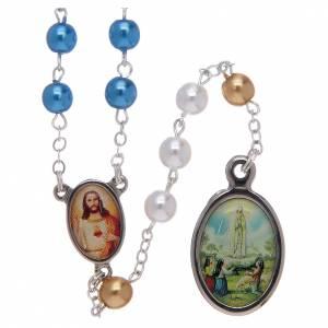 Rosari similperla: Rosario con grani in similperla centenario di Fatima