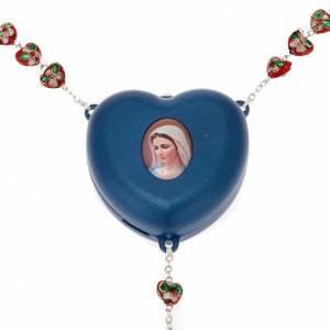 Rosario electrónico corazon medalla s1