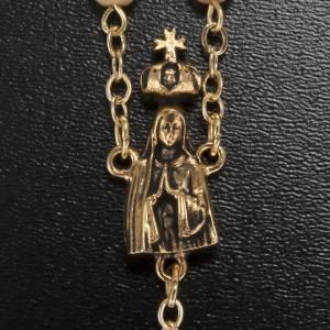 Rosario Ghirelli grani perlati Madonna di Fatima 6 mm s3