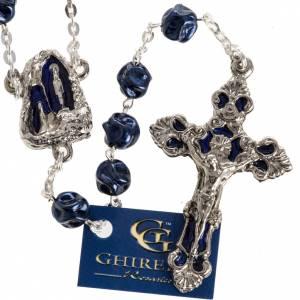 Rosario Ghirelli Gruta de Lourdes azul 8mm s1
