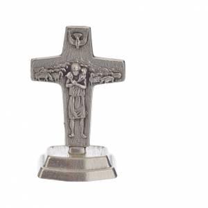 Rosario marrone e croce Papa Francesco s5