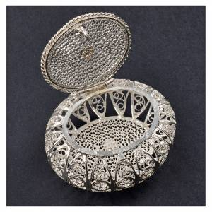 Rosary case box in 800 silver filigree s2